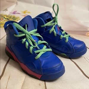 Retro Nike air Jordan's youth size 2